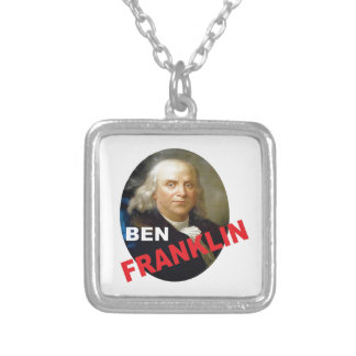 Ben Silver Plated Necklace