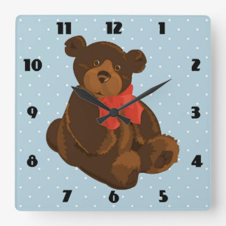 Ben the Bear Wall Clock