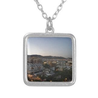 Benalmadena Silver Plated Necklace