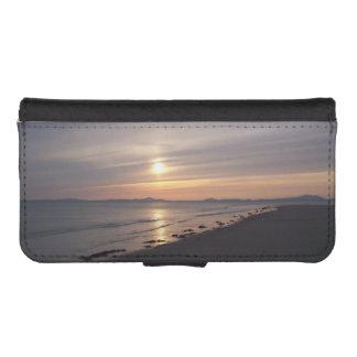 Benar beach sunset phone wallet case