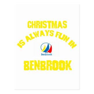 benbrook CHRISTMAS DESIGNS Post Cards