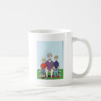 bench basic white mug