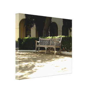 Bench Stretched Canvas Prints