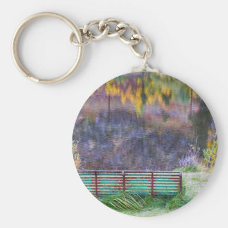 Bench For Day Dreaming Key Ring