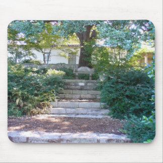 Bench in a Garden Mouse Pads