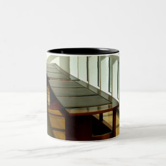 Bench In A Museum Mugs