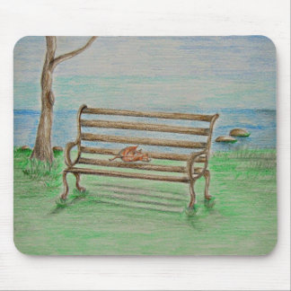 Bench Mouse Pad