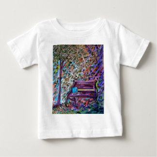 Bench on a Windy Day Baby T-Shirt