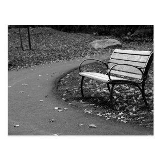 Bench on the Walk Postcard