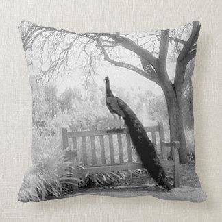 Bench Peacock Cushion