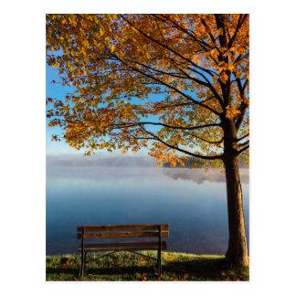 Bench Postcard