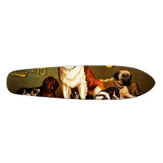 Bench Show. New England Kennel Club 21.6 Cm Old School Skateboard Deck
