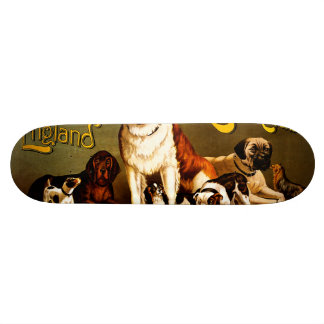 Bench Show. New England Kennel Club Skate Board Decks