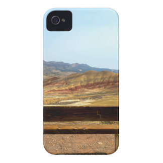 Bench View at Painted Hills Overlook Oregon Case-Mate iPhone 4 Cases
