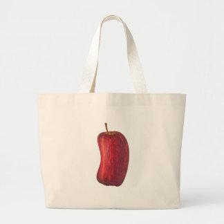 Bend apple jumbo tote bag