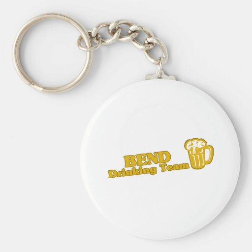 Bend Drinking Team tee shirts Key Chains