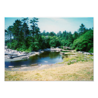 Bend in the River - photo print