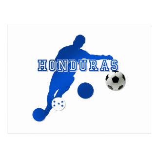 Bend it like a Honduran Honduras flag gifts Postcard