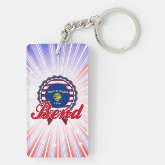Bend, OR Acrylic Keychain