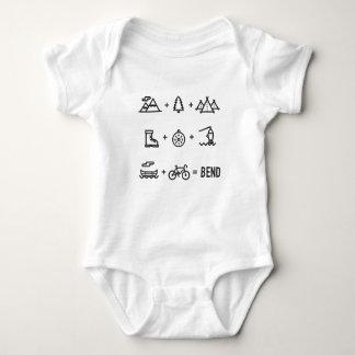 Bend Oregon Activities Equation Baby Bodysuit