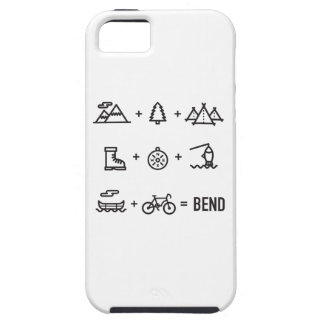 Bend Oregon Activities Equation Logo Case For The iPhone 5