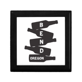 Bend Oregon Beer Bottle Stack Logo Gift Box