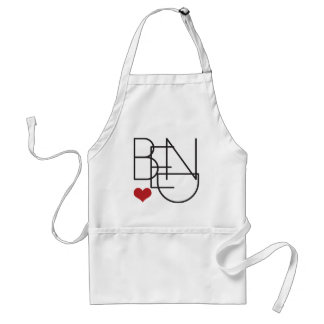 Bend Oregon Heart Standard Apron
