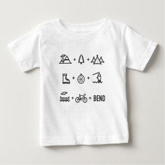 Bend Oregon Outdoor Activities Equation Baby T-Shirt