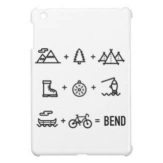 Bend Oregon Outdoor Activities Equation iPad Mini Cases