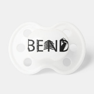 Bend Oregon Outdoor Activity Letters Logo Dummy