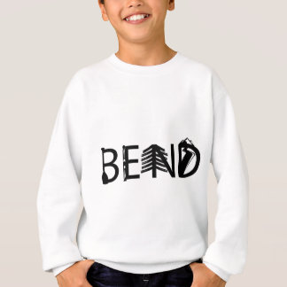 Bend Oregon Outdoor Activity Letters Logo Sweatshirt