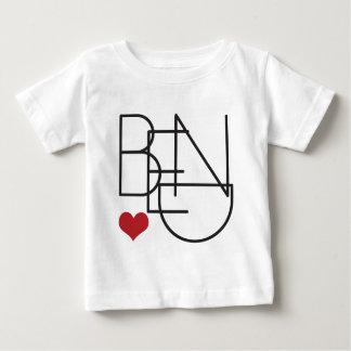 Bend Oregon Word Heart Logo Baby T-Shirt