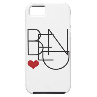 Bend Oregon Word Heart Logo Case For The iPhone 5