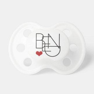 Bend Oregon Word Heart Logo Dummy
