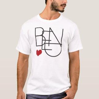 Bend Oregon Word Heart Logo T-Shirt