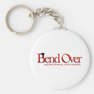 Bend Over and Take it Key Chain