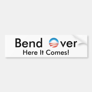 Bend Over Bumper Sticker