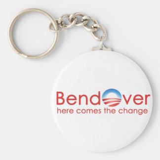 Bend Over for Barack Obamas Change Key Chains