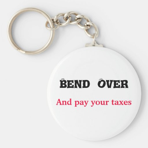 bend over keychain