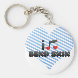 Bend Skin fan Key Chain