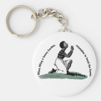 Bend the Knees Key Chain