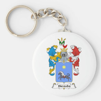 Bende Family Hungarian Coat of Arms Key Chains
