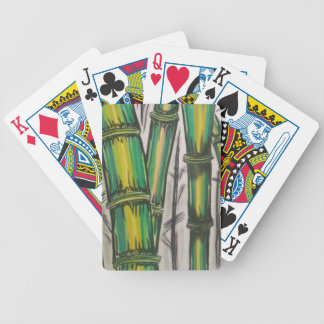 Bending Strength Bamboo by Michael David Bicycle Playing Cards