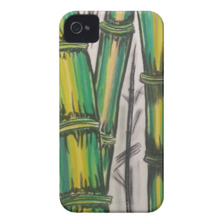 Bending Strength Bamboo by Michael David Case-Mate iPhone 4 Cases
