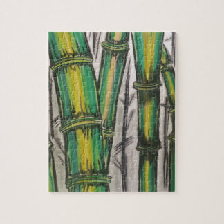 Bending Strength Bamboo by Michael David Jigsaw Puzzle