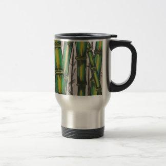 Bending Strength Bamboo by Michael David Travel Mug