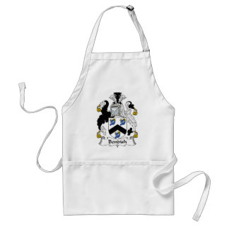 Bendish Family Crest Standard Apron