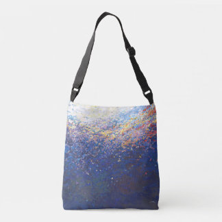 Beneath A Sunset Unisex Cross Over Bag by Juul