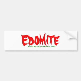Beneath Eden - Edomite sticker 1st edition Bumper Sticker