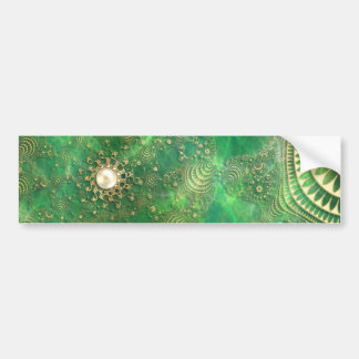 Beneath the Emerald Sea Bumper Sticker